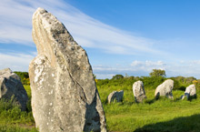Dolmens and menhirs (standing stones)